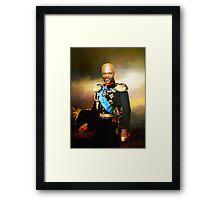 Sir Samuel Leroy Jackson Framed Print