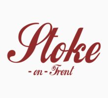 Stoke-on-Trent (Coke Font) by crazytees