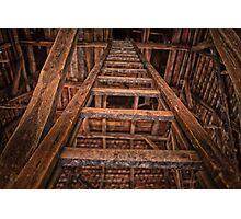 Wooden ladder Photographic Print