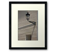 Old lamp Framed Print