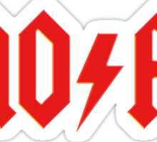 MOFO Rock & Roll Sticker