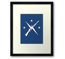 General, your orders. Framed Print