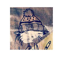 Grunge Cat by doodleby