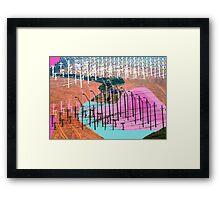 Human Landscape Framed Print