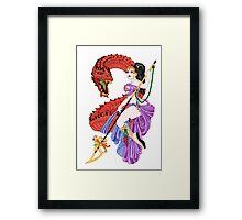 Riding The Dragon Framed Print