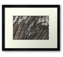 Salt Mine  Framed Print