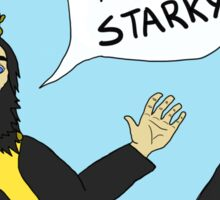 Hey, Starky Sticker