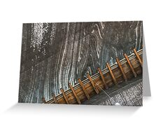 Salt Mine  Greeting Card