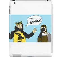 Hey, Starky iPad Case/Skin