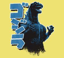 Godzilla Blue Kids Clothes