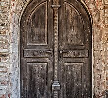 Old wooden door by Dobromir Dobrinov