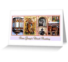 Saint George's Church ~ Auerberg Greeting Card
