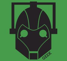 Geek Shirt #1 Cyberman Kids Clothes