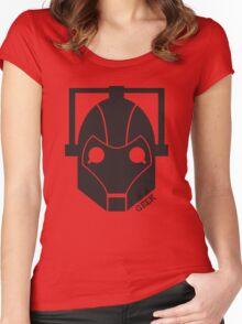 Geek Shirt #1 Cyberman Women's Fitted Scoop T-Shirt
