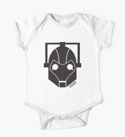 Geek Shirt #1 Cyberman One Piece - Short Sleeve
