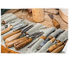 Work Tools: Chisel  Poster