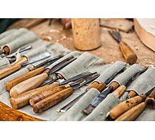 Work Tools: Chisel  Photographic Print