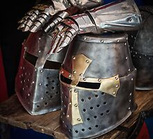 Knight helmet by Dobromir Dobrinov