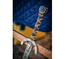 Swords & Shield Photographic Print