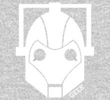 Geek Shirt #1 Cyberman (White) One Piece - Short Sleeve