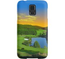 Summer sunset at the golf club | landscape photography Samsung Galaxy Case/Skin
