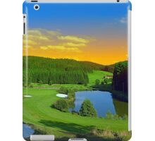 Summer sunset at the golf club | landscape photography iPad Case/Skin