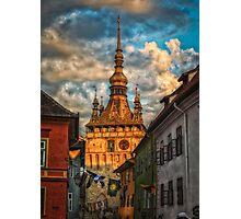 Clock tower Photographic Print