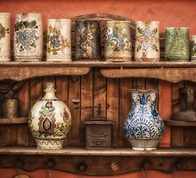 Vintage shelf by Dobromir Dobrinov