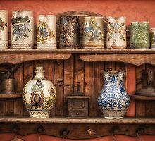 Vintage shelf by Dobromir Dobrinov