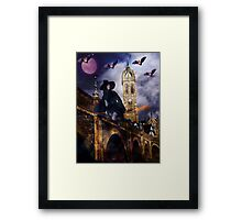 She Rides The Four Winds Framed Print