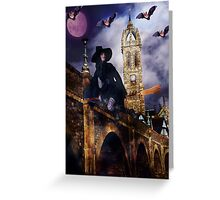She Rides The Four Winds Greeting Card