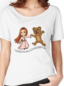 The Bear And The Maiden Fair Women's Relaxed Fit T-Shirt