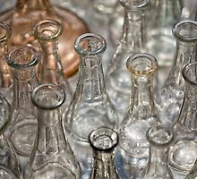 Glass bottles by Dobromir Dobrinov