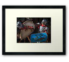 Knights Framed Print
