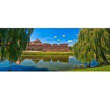 Fagaras fortress Photographic Print