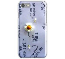 She loves or not?) iPhone Case/Skin