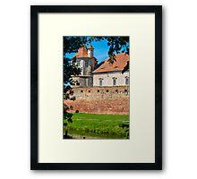 Fagaras fortress Framed Print