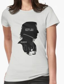 """""""After all this time?"""" """"ALWAYS"""" Womens Fitted T-Shirt"""