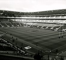 Twickenham. Black and White. by Robert Steadman