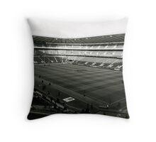 Twickenham. Black and White. Throw Pillow
