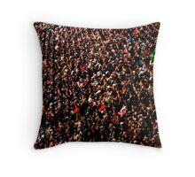 Twickenham crowd Throw Pillow