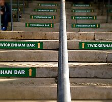 Twickenham bar by Robert Steadman