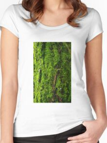 Mossy Women's Fitted Scoop T-Shirt