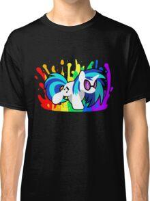 Drop the Bass (Vinyl Scratch Shirt) Classic T-Shirt