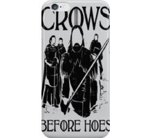 Crows Before Hoes Anime iPhone Case/Skin
