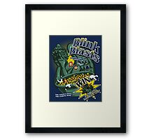Blink Blasts Framed Print