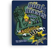 Blink Blasts Canvas Print