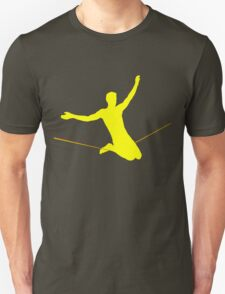 Double drop knee (for dark T-shirts) T-Shirt