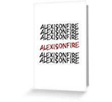 Alexisonfire Greeting Card