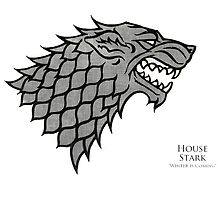 Game of Thrones - House Stark  by Clengtan